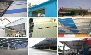 Acoustic PVC Roofing Sheet pictures & photos