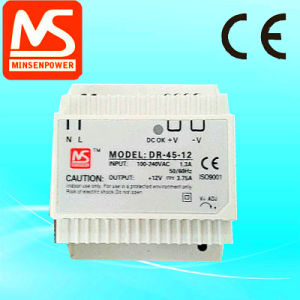 Dr-75-12, 75W 12V 6.3A DIN Rail Power Supply