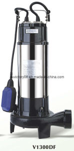 Stainless Steel Cutting Sewage Water Pump V1300f (WQ12-8-1.3) pictures & photos