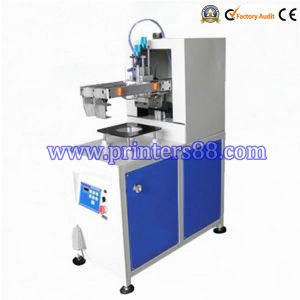 Semi-Automatic Two Color Screen Printer for balloon pictures & photos