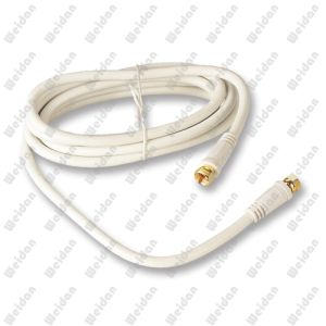 RG6 Coaxial Gold Plated Digital Satellite TV VCR Cable 3meter pictures & photos