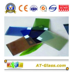 4mm 5mm 6mm Reflective Glass Used for Building pictures & photos