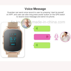 Adult/Personal Portable GPS Tracker Watch with Two Way Communication T58 pictures & photos