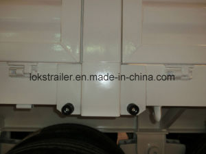 40 Feet 3axle Flatbedwith Dropside Semi Trailer pictures & photos