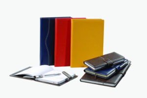 Various Sizes Colourful PU Leather Notebook (YY-N0131) pictures & photos