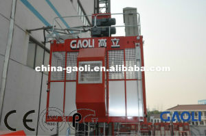Sc Series Frequency High Speed Building \ Construction Elevator with Counter Weight pictures & photos