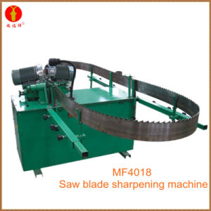 Mf4018 Carbide Saw Blade Tooth Side Sharpener Machine pictures & photos