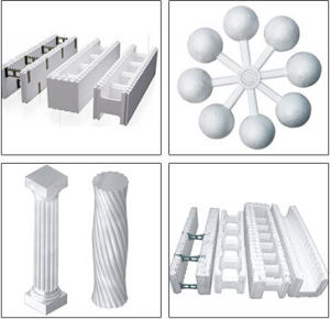 EPS Styrofoam Product Machine Manufactures Make Packaging of Isopor pictures & photos