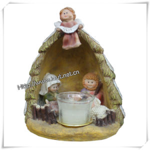 Catholic Home Christmas Statues From Polyresin Factory (IO-ca070) pictures & photos