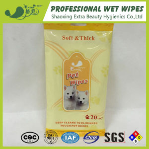 Spunlace Pet Antibacterial Cleansing Wipes Animal Clean Wet Wipes pictures & photos