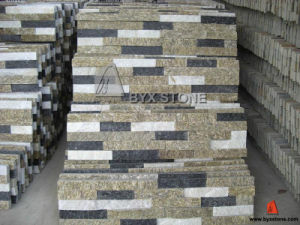 Wood Yellow Quartzite / Slate Culture Stone for Wall pictures & photos
