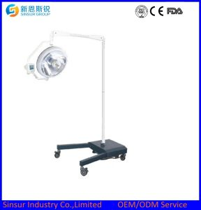 Movable Emergency Shadowless Cold Light Operating Room Surgical Lamp pictures & photos
