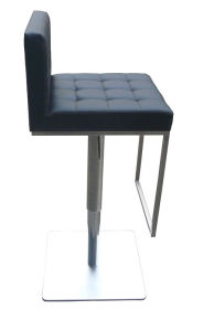 Modern Stainless Steel Bar Chair with Backrest pictures & photos