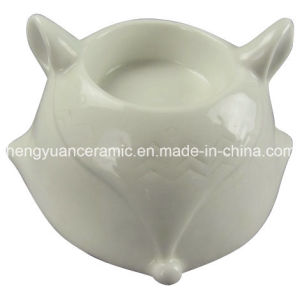 Fox Shaped Porcelain Craft, Ceramic Candle Holders pictures & photos
