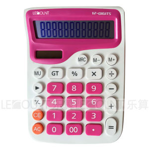 Optional Twin-Set 12 Digits Dual Power Desktop Calculator (LC271SET) pictures & photos