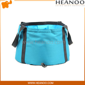 Outdoor Camping Foldable Lightweight Water Bucket Bag for Washing Facing pictures & photos