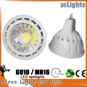 LED GU10 MR16 Spot 6W CRI>80 LED Spotlight (MR16-A6)