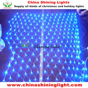 500LED 5*5m Size Blue Color Multi Color LED Christmas Net Lights pictures & photos