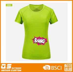 Women′s Print Fashion Quick Dry T-Shirt pictures & photos