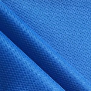 Polyester Diamond Embossed Effect Polyester Ripstop Fabric pictures & photos