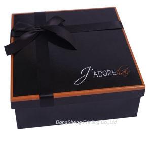 Noble&Elegant Cardboard Paper Promotional Shoes Ribbon Packaging Boxes