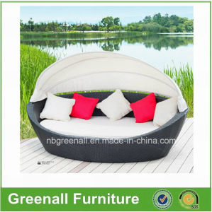 Rattan Garden Furniture Outdoor Sunbed Patio Rattan Daybed pictures & photos
