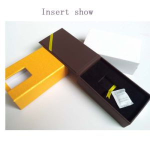 Cardboard Gold Coin Box with Velvet Insert pictures & photos