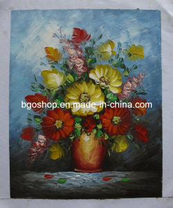 High Glossy Polyester Oil Canvas (430g) pictures & photos