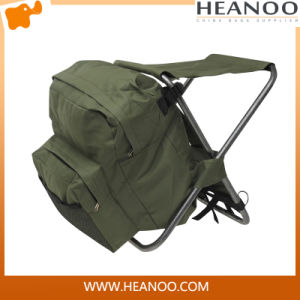 Outdoor Custom Fly Waterproof XP Fishing Backpack with Chair pictures & photos