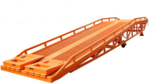 8 Ton Hydraulic Movable Container Load Ramp pictures & photos