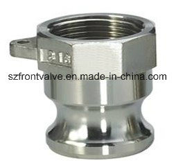 Investment Casting Stainless Steel Cam Lock-Type a Adaptor Female pictures & photos