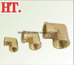 Forged 90 Degree Elbow Brass Pipe Fitting NPT Female Brass Fitting pictures & photos