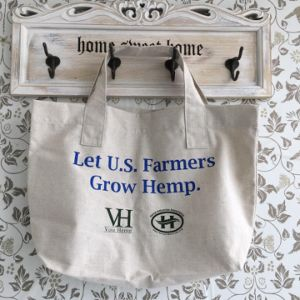 Reusable Wholesale Custom Made Hemp Shopping Bag pictures & photos