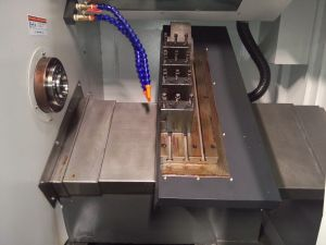 Slant CNC Lathe with C Axis/Milling Tool/Power Tool Cxk32/HTC32 pictures & photos