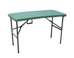 4ft Plastic Folding in Half Table for Army Used pictures & photos