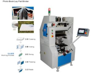 Automatic Butterfly Photo Book Maker Machine/Album Machine HS-PF500 pictures & photos