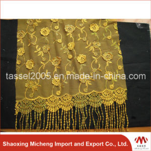 Hot Sell Guipure Lace with Stone 3023 pictures & photos