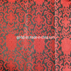 Wrap Knitting Polyester Rayon Jacquard Fabric (JF-12) pictures & photos