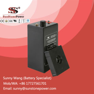 Deep Cycle 2V Voltage 300ah AGM Solar Energy Storage Battery pictures & photos
