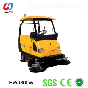 Factory Provide Automatic Electric Road Sweeper (HW-I800W) pictures & photos