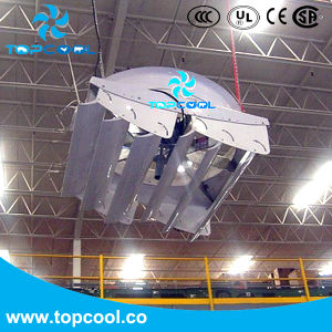 Vhv55-2015 Cooling Cyclone Ventilation Fan with Air Deflector for Poultry pictures & photos