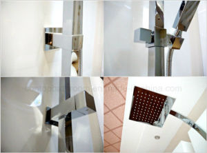 Australia Standard Square Bathroom Shower Colunm Rain Shower Set pictures & photos