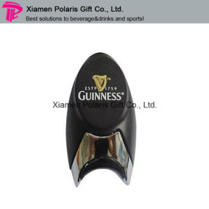 Custom Plastic Finger Beer Bottle Opener with Guinness Logo pictures & photos