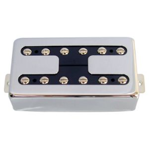 Guitar Parts H Style Chrome Cover Ceramic Lp Guitar Pickup pictures & photos