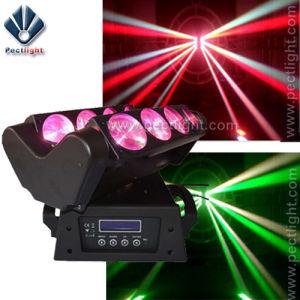 Disco Spider 8 Eye 10 Watt RGBW LED Beam Light pictures & photos
