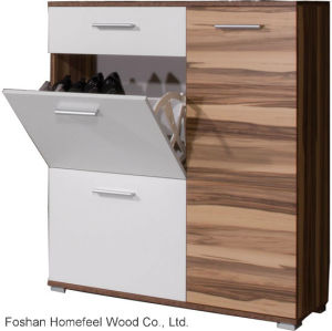 Wooden Shoe Cabinet for Home Furniture (HF-EY08146) pictures & photos
