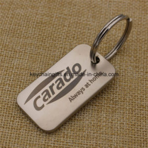 Promotion Gifts Custom Metal Blank Key Tag pictures & photos