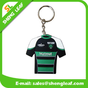 Promotional Custom Rubber Keychains Product (SLF-KC019) pictures & photos