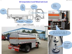 4*2 Foton Forland Mini Refueling Tank Truck pictures & photos