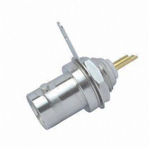 BNC Female Bulkhead Receptacle Solder Type RF Connector
